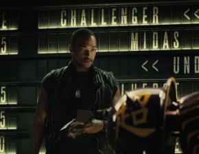 Actor Anthony Mackie in Reel Steel