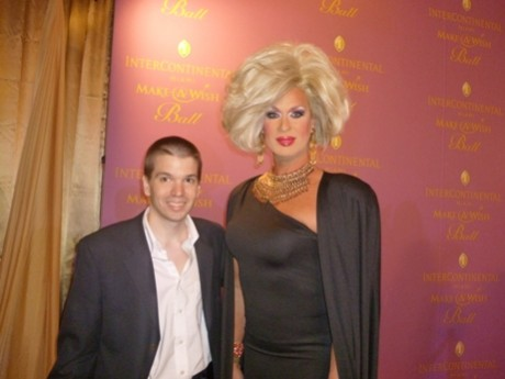 Elaine Lancaster, Chris Yandek, Real Housewives of Miami, Miami Make A Wish Ball, Drag Queens, Miami Drag Queens