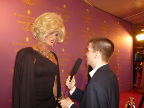 Elaine Lancaster, Chris Yandek, Real Housewives of Miami, Miami Make A Wish Ball, Drag Queens, Miami Drag Queens, Red Carpet Interviews