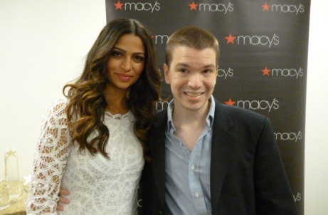 Chris Yandek, Camila Alves, Camila Alves INC, INC Spring Collection, Camila Alves McConaughey, Camila Alves Fashion, Macy's 2013, Camila Alves Photos, Macy's Fashion, Fashion 2013, Celebrities in Miami, Macy's Aventura, INC Fashion, Camila Alves Fashion
