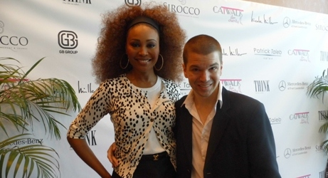 Catwalk for Charity 2014, Cynthia Bailey, Cynthia Bailey 2014, Cynthia Bailey Interview, Breakfast with Santa, Catwalk for Charity Photos, Chris Yandek, Celebrities in Miami, Chris Yandek Cynthia Bailey, Cynthia Bailey 2014, Real Housewives of Atlanta 2014, Real Housewives Photos 2014, Real Housewives of Atlanta