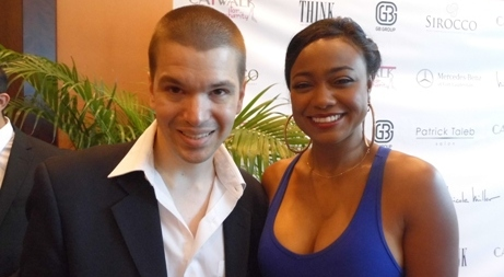 Catwalk for Charity 2014, Tatyana Ali, Tatyana Ali 2014, Tatyana Ali Interview, Breakfast with Santa, Catwalk for Charity Photos, Chris Yandek, Celebrities in Miami, Chris Yandek Tatyana Ali, Tatyana Ali Dancing with the Stars