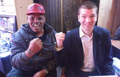 Chris Yandek, Leon Spinks, Leon Spinks 2017, Leon Spinks, Chris Yandek, Leon Spinks Caesars Palace, Caesars Palace Leon Spinks