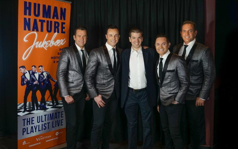 Human Nature 2018, Human Nature Jukebox: The Ultimate Playlist, Human Nature Venetian Show 2018, Venetian 2018, Sands Showroom 2018, Chris Yandek, Human Nature Jukebox 2018, Human Nature Venetian, Las Vegas Shows 2018
