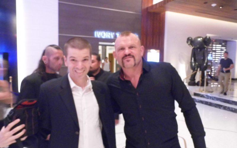 Chris Yandek, Chuck Lidell 2018, UFC Hall of Fame 2018, Chuck Lidell Bellator 2018, Chris Yandek, Las Vegas, UFC Las Vegas Palms