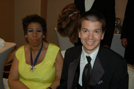 Chris Yandek, Aretha Franklin,