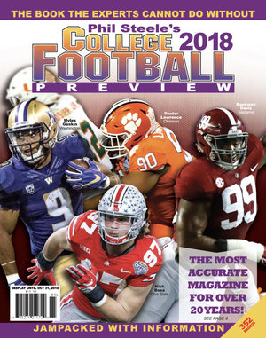 Phil Steele Magazine 2018, Phil Steele College Football Magazine 2018