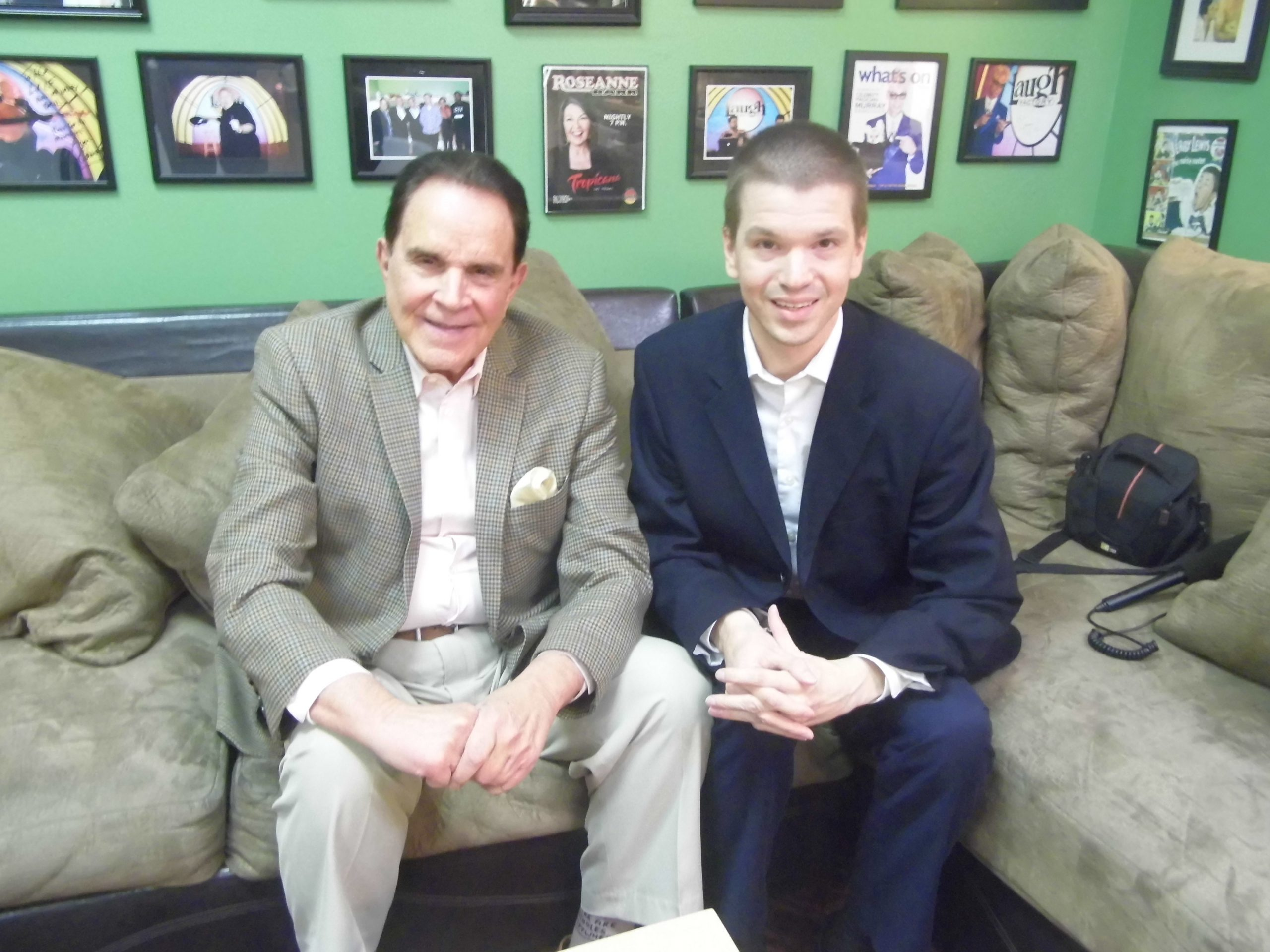 Chris Yandek, Rich Little Turns 80, Rich Little at 80, Chris Yandek Rich Little 2018, Rich Little Tropicana Hotel and Casino, Rich Little Las Vegas, Rich Little Laugh Factory, Chris Yandek Rich Little,