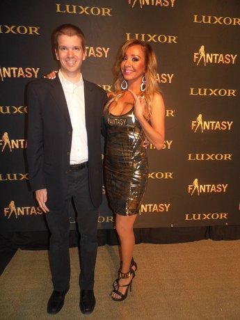 Chris Yandek, Lorena Peril, Fantasy Las Vegas Lorena Peril, Lorena Peril 2018, Las Vegas 2018, Luxor Hotel and Casino 2018, Fantasy 19th Anniversary