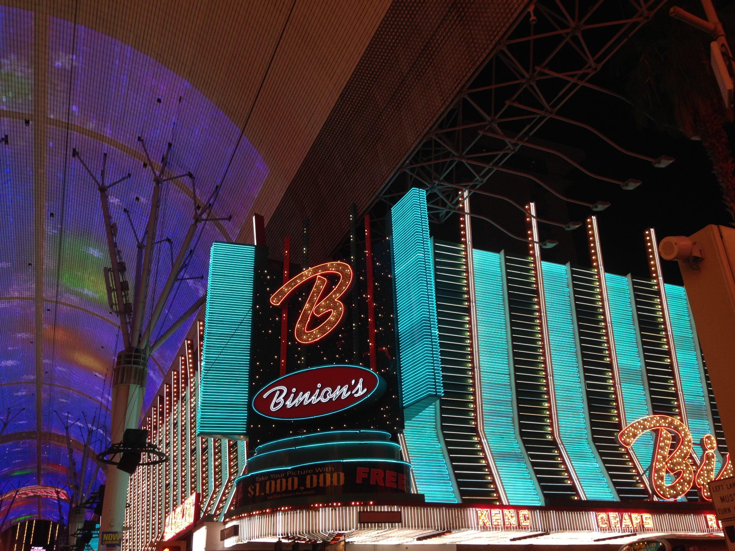 Binion's Casino 2018, Binion's Casino, Binion's Casino