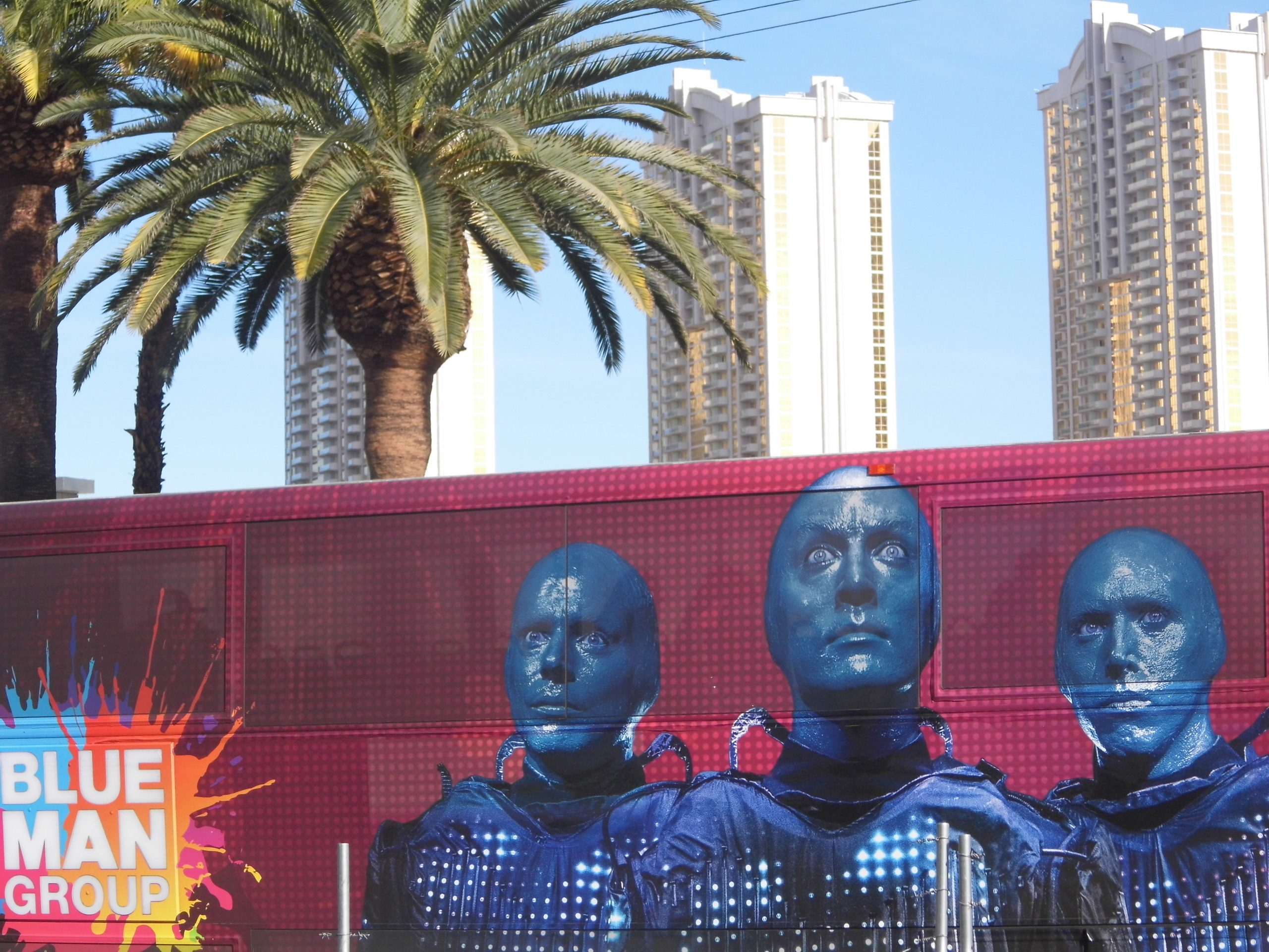 Blue Man Group Las Vegas, Blue Man Group Las Vegas 2018