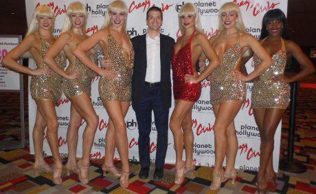 Crazy Girls Show Las Vegas, Crazy Girls Las Vegas, Crazy Girls Show 2018, Crazy Girls Women, Chris Yandek, Las Vegas 2018, Planet Hollywood Crazy Girls 2018, Chris Yandek