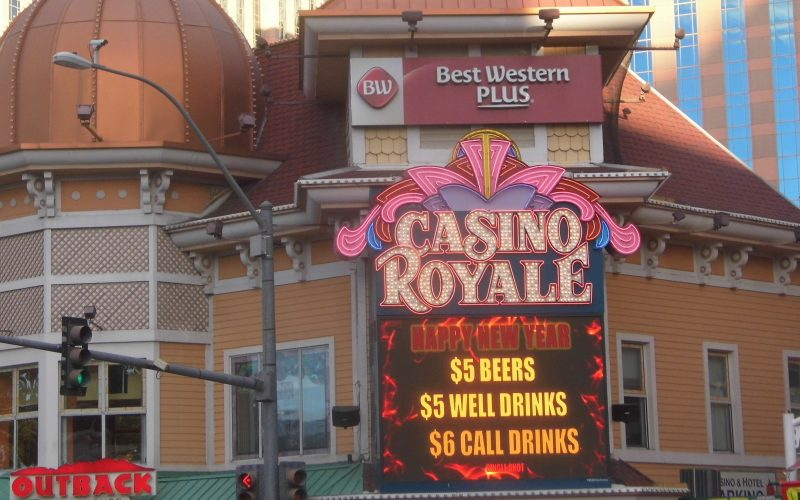 Casino Royale Hotel and Casino 2019, Casino Royale Hotel and Casino, Casino Royale Hotel and Casino, Las Vegas 2018, Las Vegas 2019, Smallest Casino on Las Vegas Strip, Casino Royale Hotel and Casino