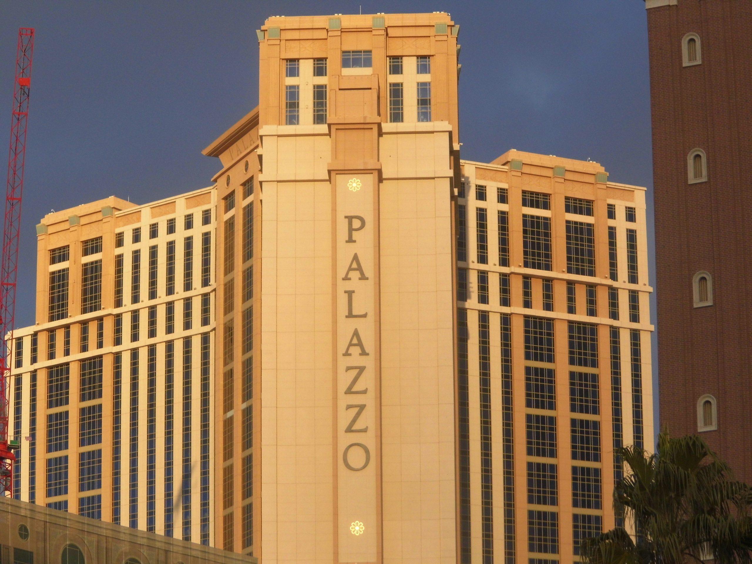 The Palazzo Las Vegas, The Palazzo 2019, Palazzo Hotel and Casino Las Vegas, Palazzo 2019