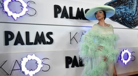 Cardi B Las Vegas, Cardi B Kaos, Cardi B Palms Hotel and Casino, Cardi B Kaos, Cardi B Las Vegas 2019