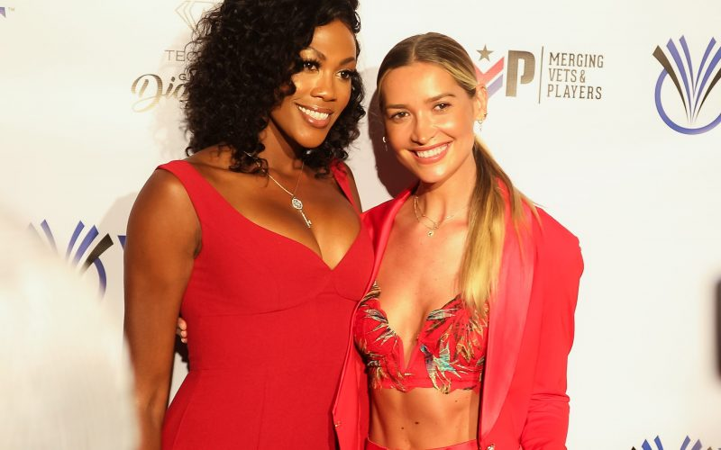 Kim Glass, Melody Kandi, Kim Glass 2019, Melody Kandi 2019, STK Steakhouse ESPY Event 2019, STK Steakhouse Los Angeles, STK Steakhouse Los Angeles 2019