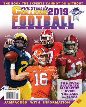 Phil Steele Magazine 2019, Phil Steele College Football Magazine 2019