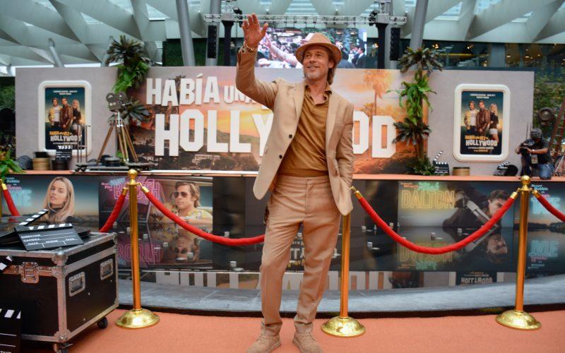 Brad Pitt 2019, Brad Pitt Mexico 2019, Brad Pitt Once Upon a Time in Hollywood Mexico, Chris Yandek, Entertainment News 2019, Movies 2019, News 2019, Once Upon A Time in Hollywood 2019