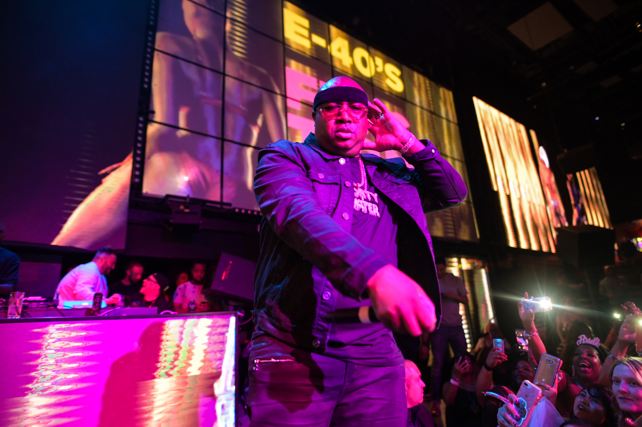 E-40 Las Vegas, E-40 The Light Nightclub, E-40 Mandalay Bay Resort and Casino , E-40 Las Vegas Residency, E-40 Las Vegas 2019, The Light Nightclub 2019