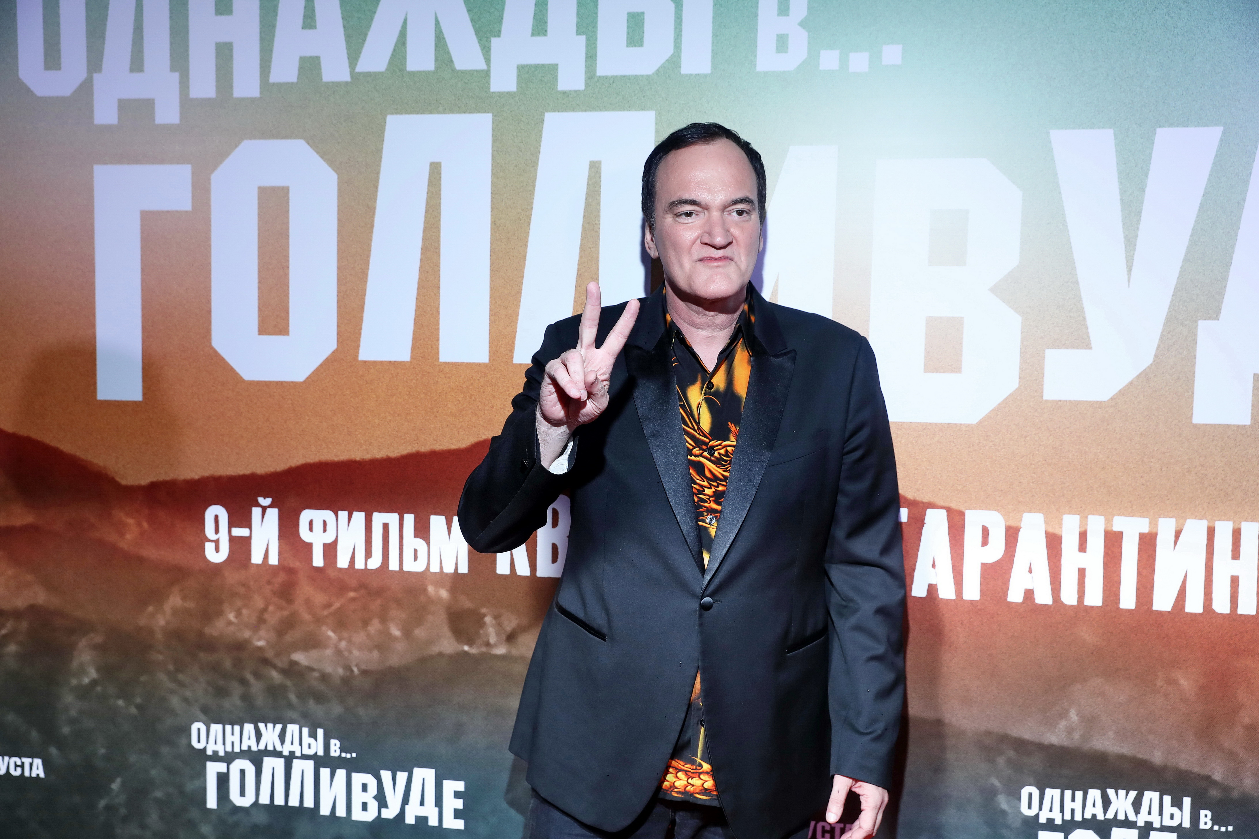 Acting 2019, Chris Yandek, Entertainment News 2019, Movies 2019, News 2019, Quentin Tarantino 2019, Quentin Tarantino Moscow Russia, Quentin Tarantino Russia 2019