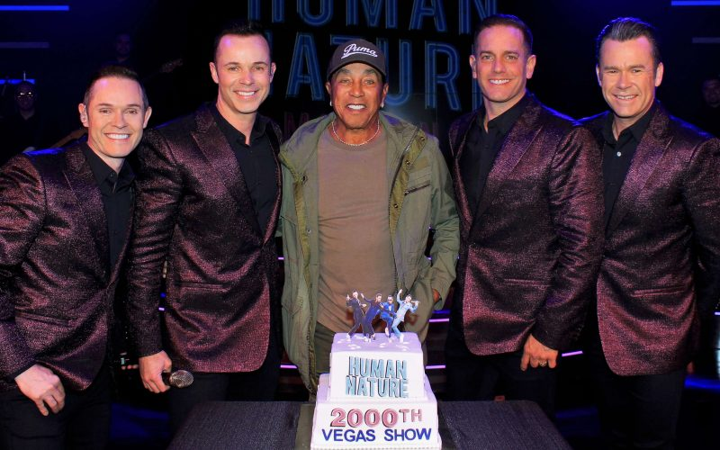 Human Nature The Venetian 2019, Human Nature 2000th show, Austrailian Pop Band Human Nature 2000th show, Human Nature and Smokey Robinson 2019, 2000th Show Human Nature