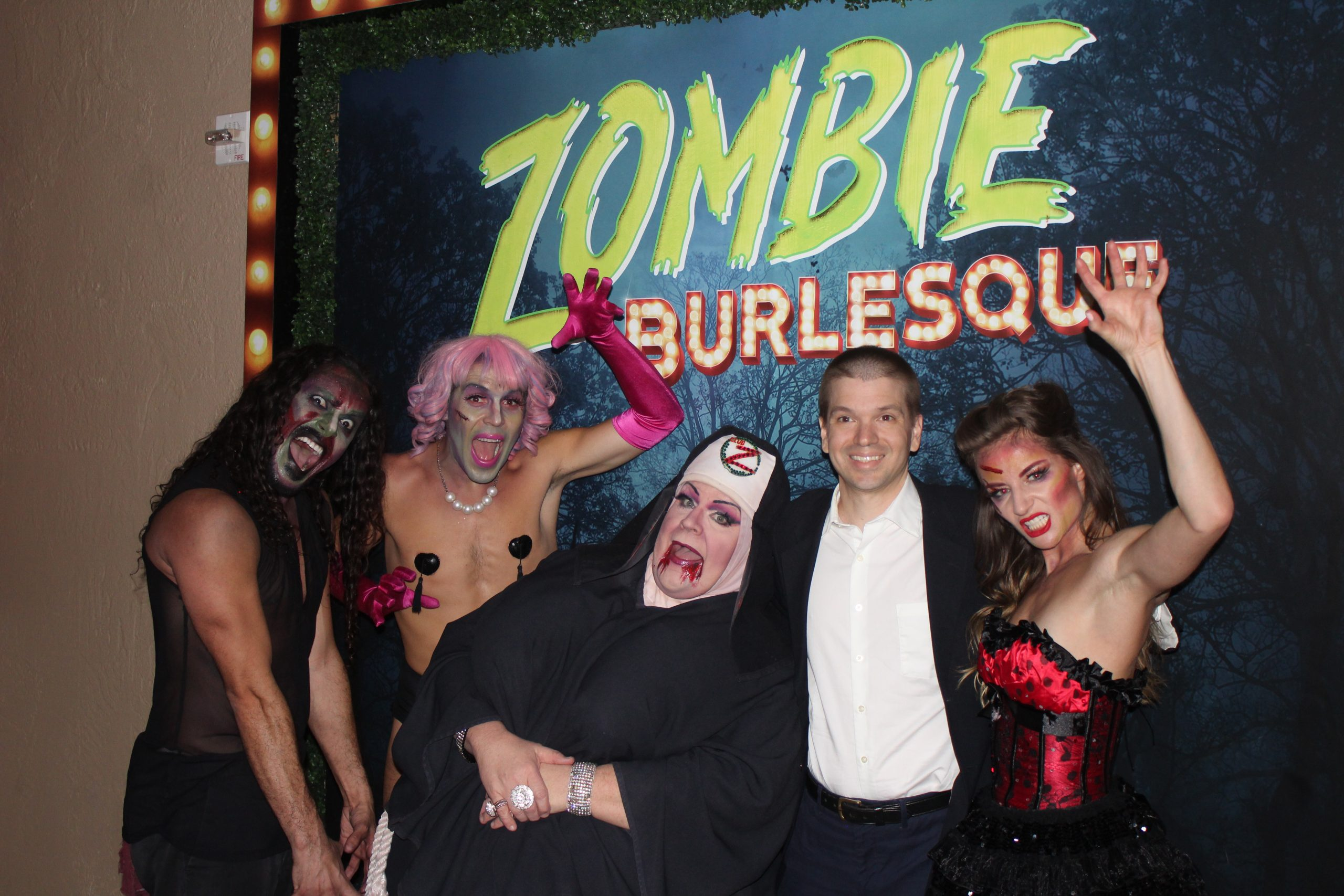 Chris Yandek, Zombie Burlesque Las Vegas Show, Zombie Burlesque Las Vegas Show Cast, Zombie Burlesque 2019, Jeffery DeBarathy, Corey Heaps, Steve Daly, Katie Matthews, Zombie Burlesque Las Vegas Show