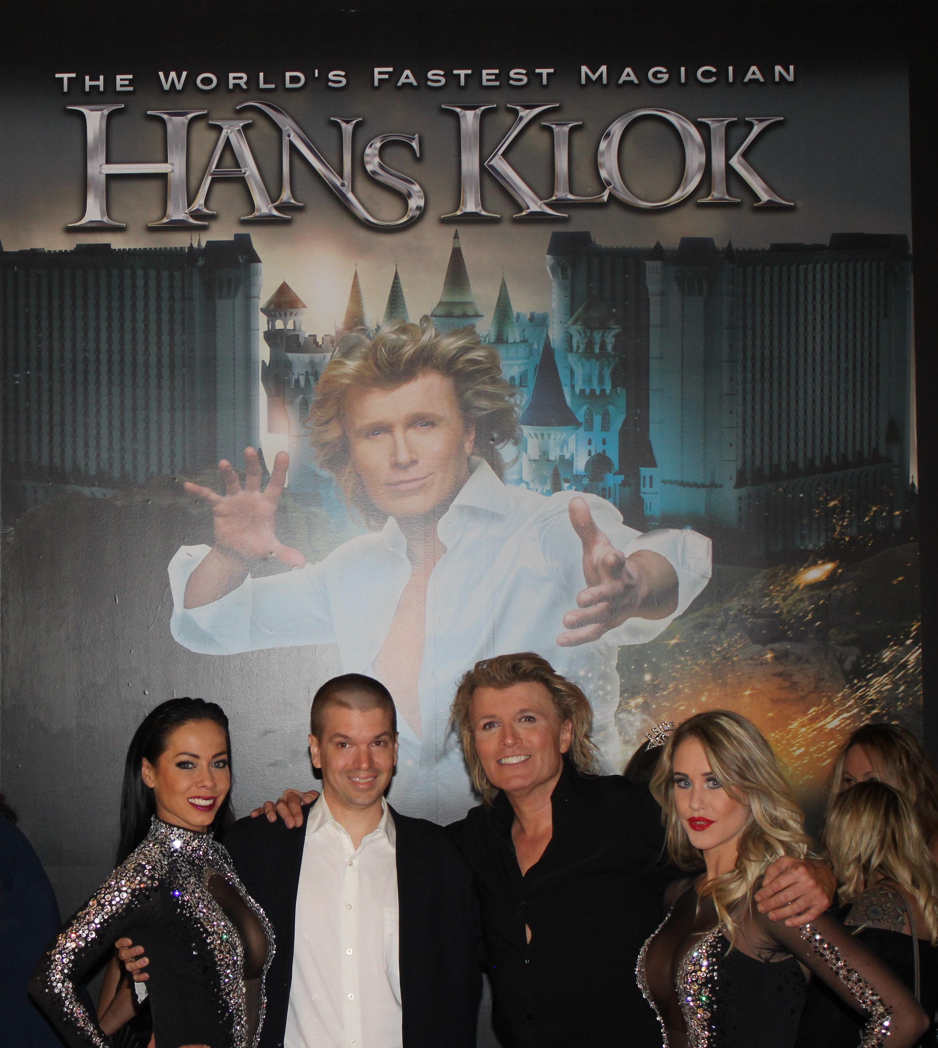 Chris Yandek, Hans Klok, Hans Klok Las Vegas Show, Bo Yael, Jenily Wagenmakers, Hans Klok Excalibur Show, Hans Klok Las Vegas Show 2019