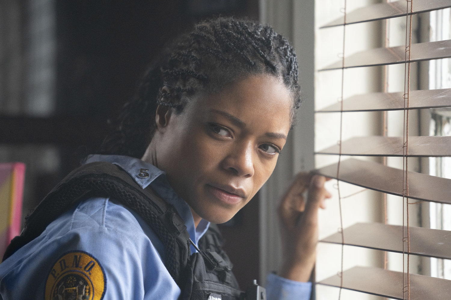 Naomie Harris Police Movie, Naomie Harries Police Movie, Naomie Harris Black and Blue, Naomie Harris 2019