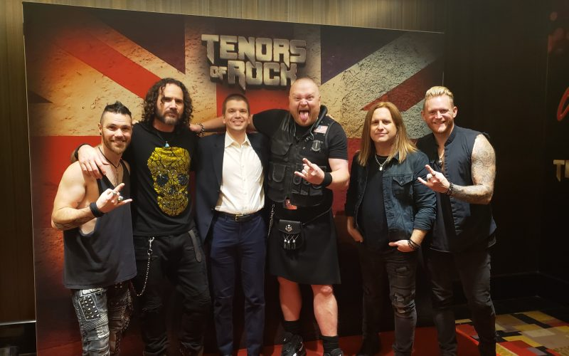 "Tenors of Rock Las Vegas, Tenors of Rock Las Vegas Show, Tenors of Rock 2019, Chris Yandek, Tenors of Rock Las Vegas, David ""Dai"" Richards, Jimmy Denning, Jonathan Williams, Dan Schumann"