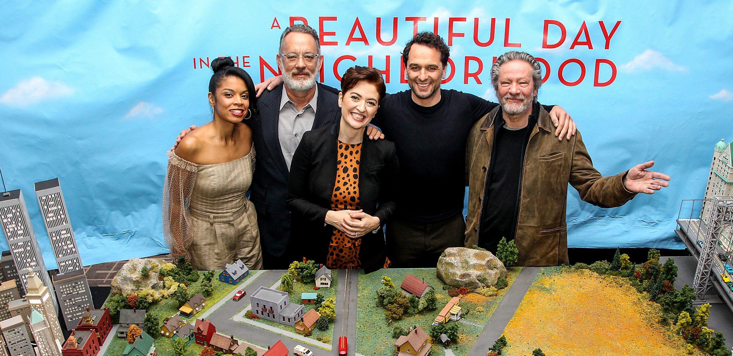 Mister Rogers Movie Cast, Tom Hanks 2019