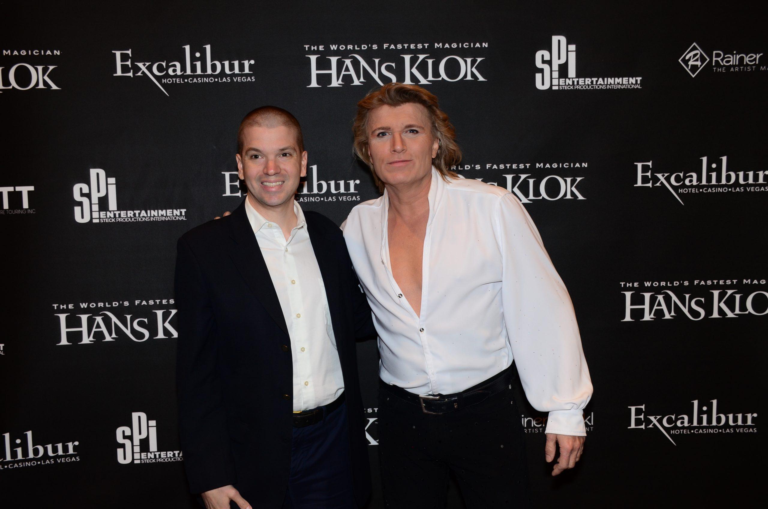 Chris Yandek, Hans Klok 2019, Hans Klok Las Vegas, Hans Klok Las Vegas Show, Hans Klok Excalibur, Hans Klok Christmas Show, Chris Yandek