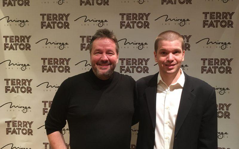 Chris Yandek, Terry Fator, Terry Fator 2019, Terry Fator Las Vegas 2019