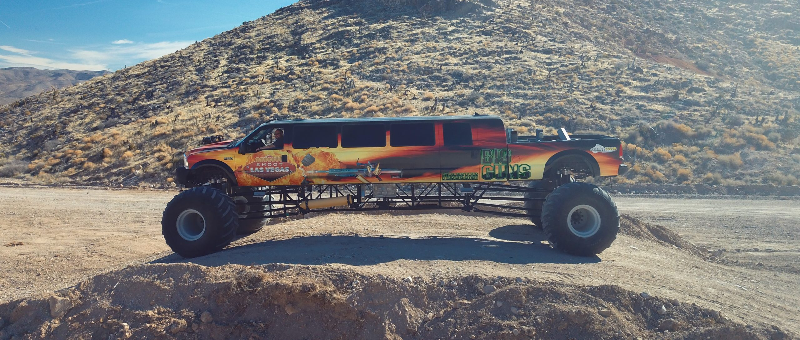 World's Largest Monster Truck, Biggest Monster Truck, Longest Monster Truck