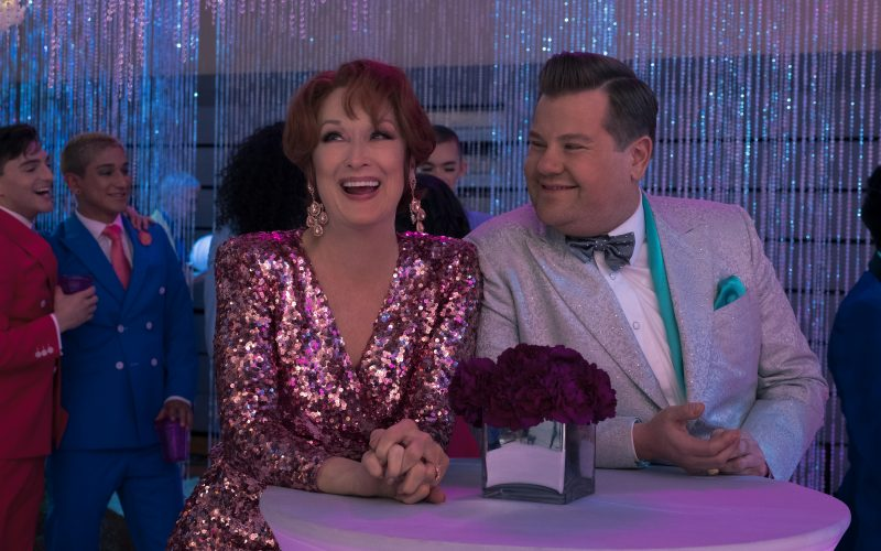 Meryl Streep The Prom, James Corden The Prom