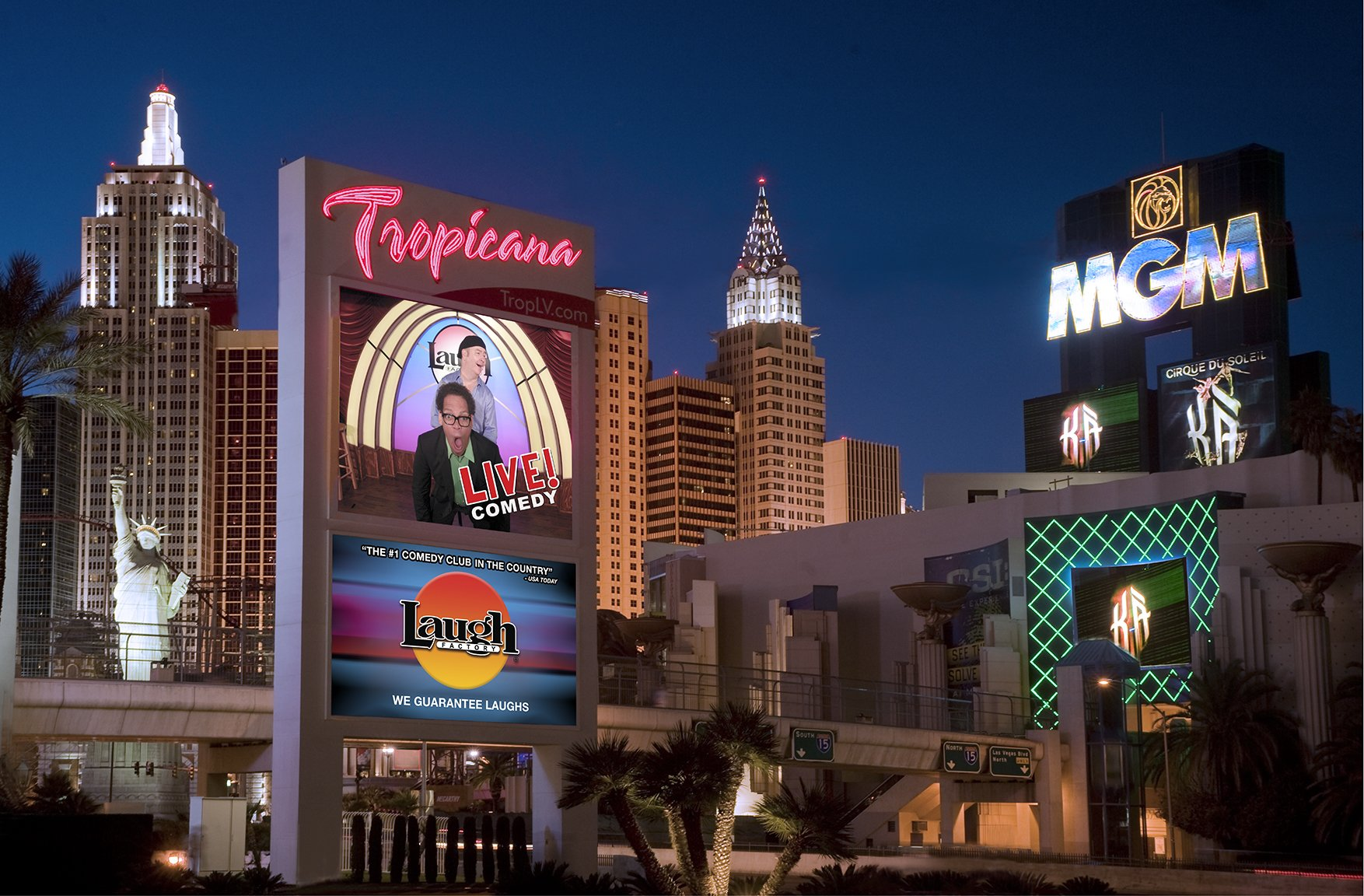 The Laugh Factory 2021, The Laugh Factory Las Vegas