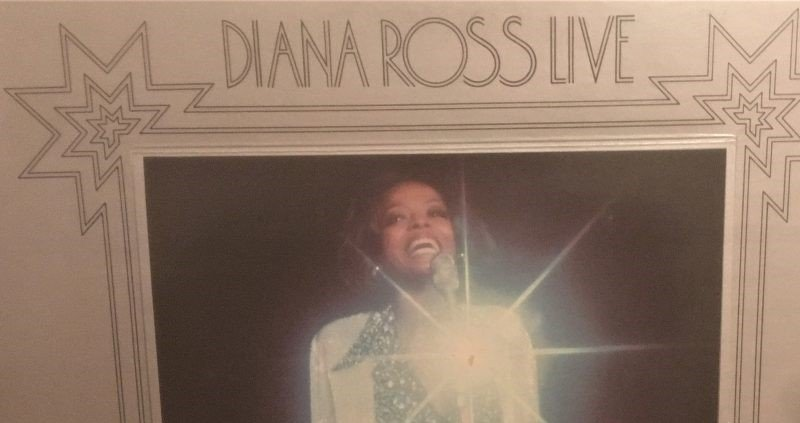 Diana Ross at Caesars Palace Live, Diana Ross at Caesars Palace Record, Diana Ross at Caesars Palace Vinyl Record
