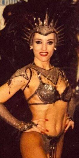 Scarlett Grable, Showgirl Scarlett Grable, Scarlett Grable Las Vegas