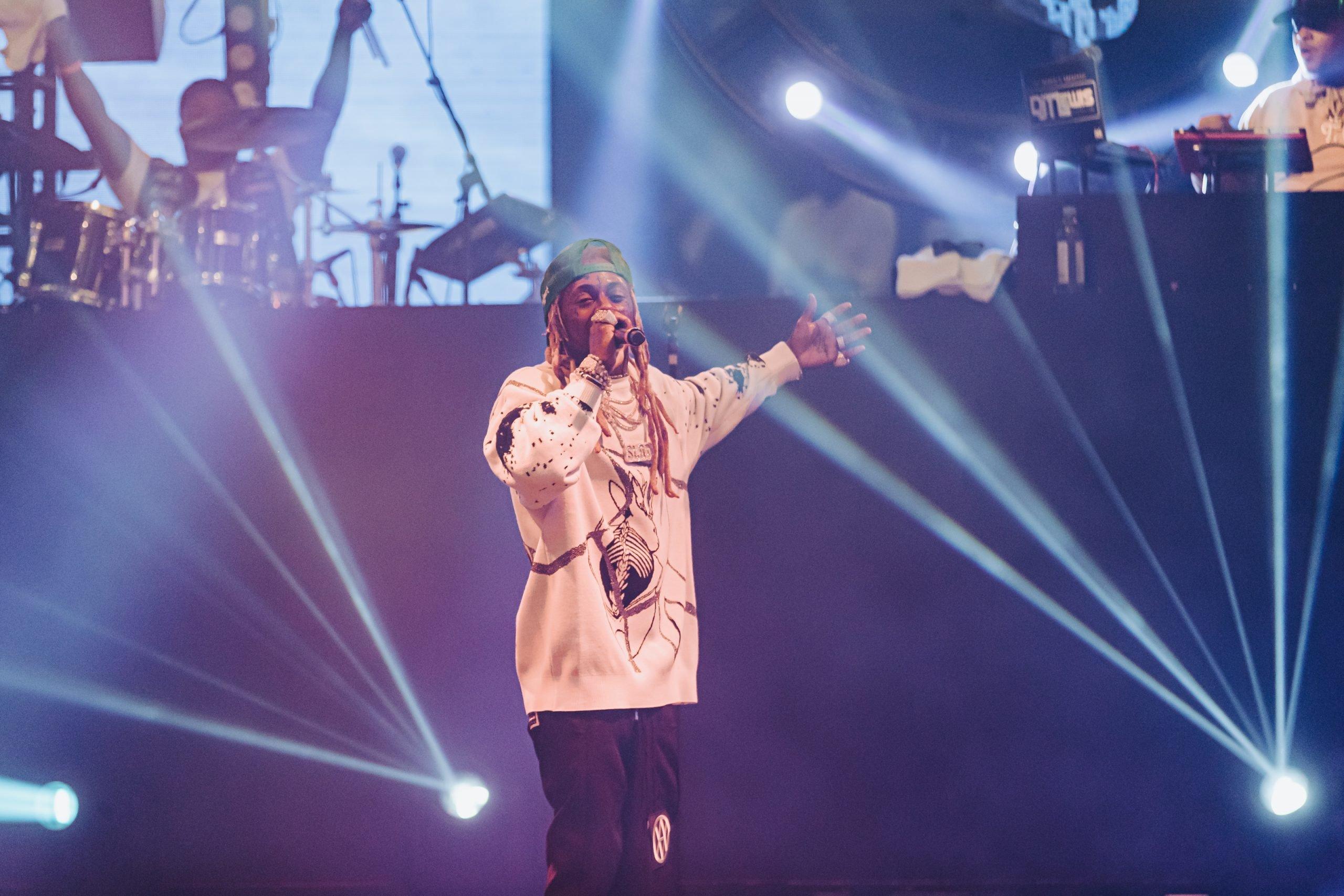 Lil' Wayne Las Vegas 2021, Lil' Wayne Las Vegas Drai's, Lil' Wayne Las Vegas Nightclub 2021