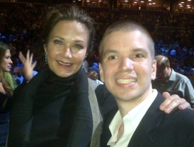 With Lynda Carter
