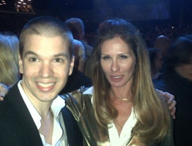 With Carole Radziwillof The Real Housewives of New York
