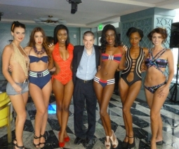 With Swimwear Models in Swimwear from Natalia Toparova