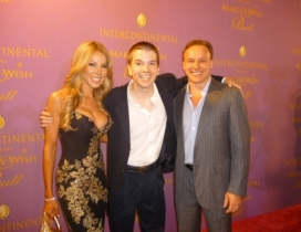 With Dr. Lenny Hochstein and Lisa Hochstein of The Real Housewives of Miami