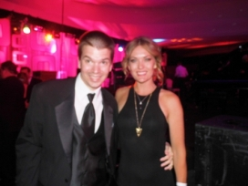 With Amy Purdy