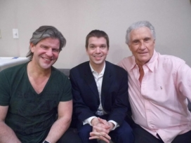 With Bucky Heard and Bill Medley of The Righteous Brothers