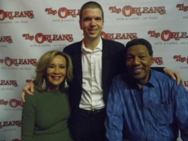 With Marilyn McCoo and Billy Davis Jr.