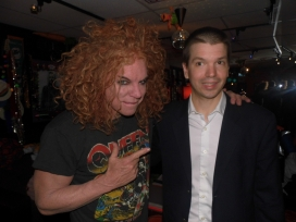 With Carrot Top