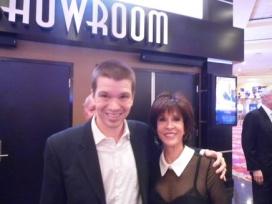 With Deana Martin