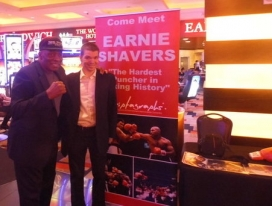 With Boxer Earnie Shavers