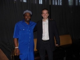 With Comedian/Actor Eddie Griffin