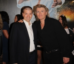 With internationally known magician Hans Klok